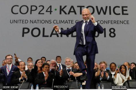 La cumbre del clima cierra un pacto poco ambicioso