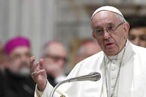 """El Papa Francisco dice que los discursos políticos en contra de los migrantes son """"inaceptables"""""""