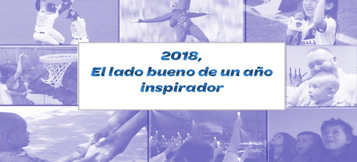 2018, el lado bueno de un año inspirador