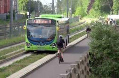 Una nueva red de autobuses propulsados por excrementos de vaca