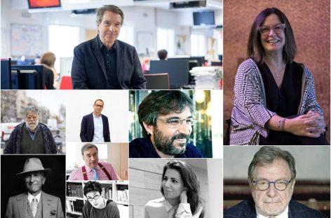 Periodistas analizan la sociedad con motivo del día del periodista