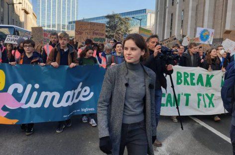 Una adolescente convierte la cuestión climática en uno de los asuntos centrales de las próximas elecciones belgas