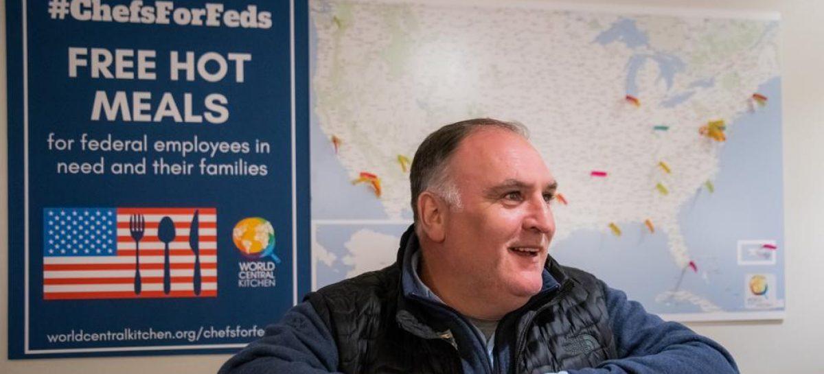 El cocinero que ha sido nominado al Nobel de la Paz. Entrevista a José Andrés
