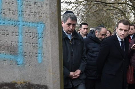 Movilizaciones en Francia contra el antisemitismo