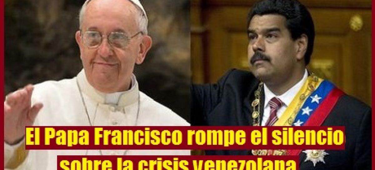Respuesta del Papa Francisco a Maduro