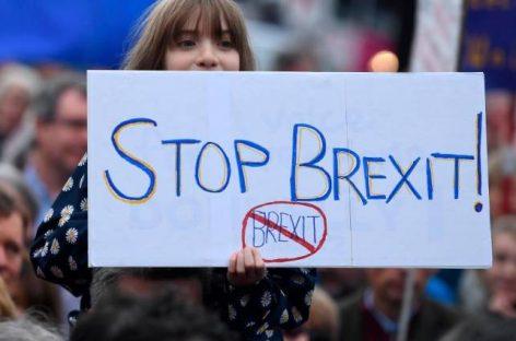 Un millón de personas reclaman un segundo referéndum que impida que Reino Unido abandone la UE