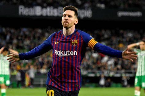 Un Messi que parece infinito