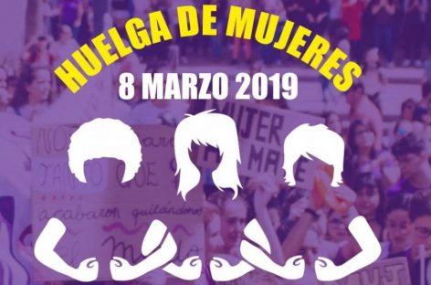 La huelga feminista se extiende a más países