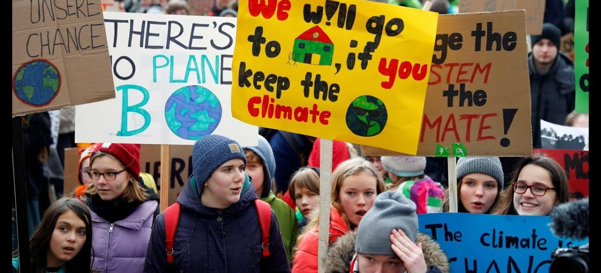 Gran huelga estudiantil por el clima