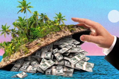 Los paraísos fiscales tienen 32 billones de dólares