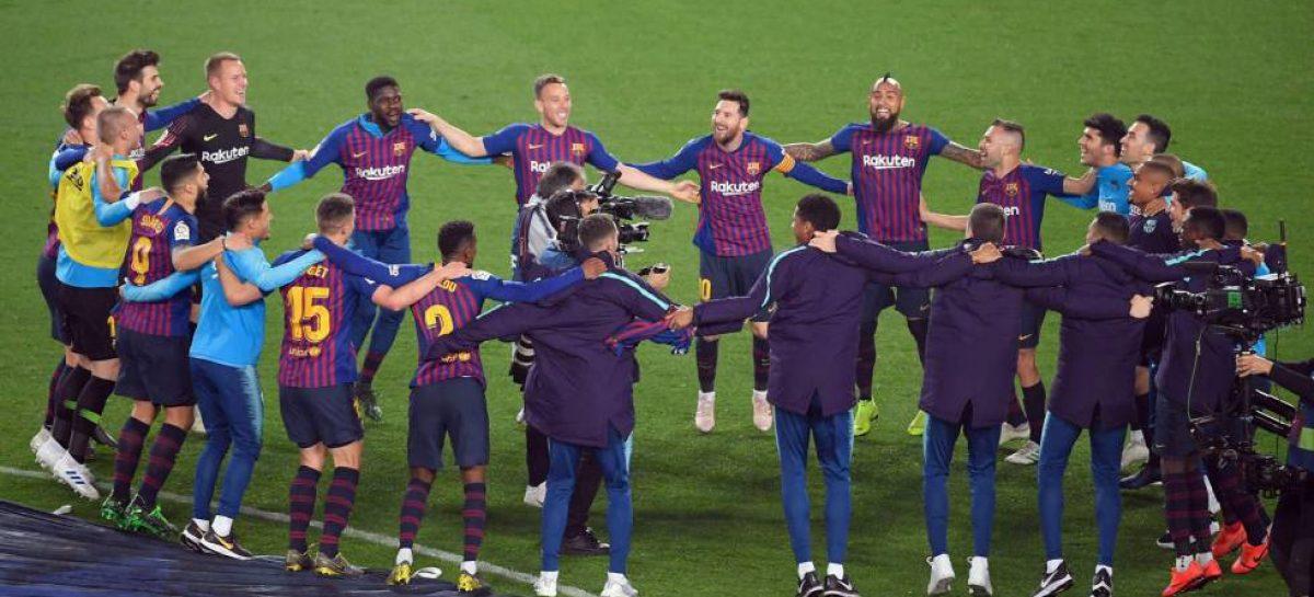 El Barcelona conquista su 26ª Liga