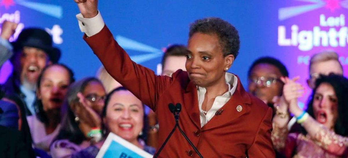 Por primera vez, la ciudad de Chicago elegía a la primera mujer alcalde, negra y lesbiana de su historia