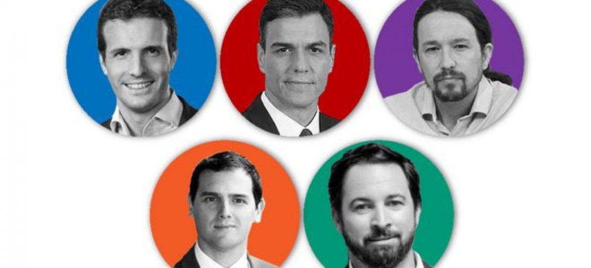 Las elecciones más fragmentadas de la historia de España
