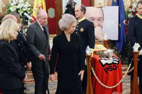 España despide a un hombre de Estado