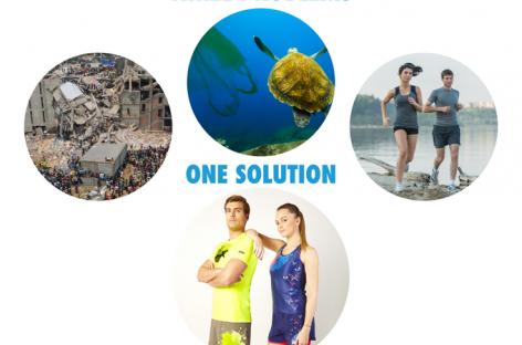Moda sostenible fabricada con residuos plásticos