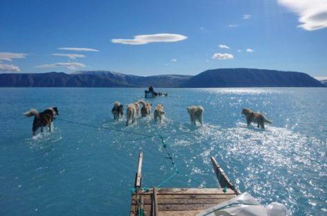 El deshielo en Groenlandia reaviva las preocupaciones por los efectos del cambio climático