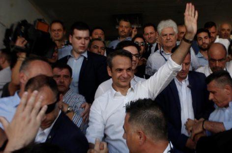 La derecha gana las elecciones en Grecia con el 40% de los votos