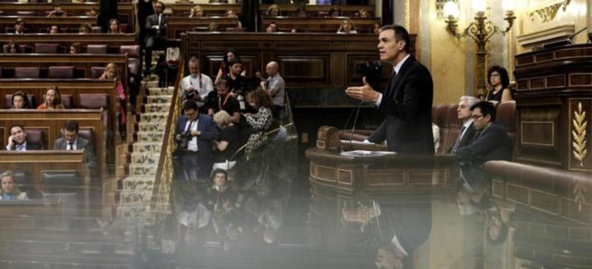 Pedro Sánchez: primera investidura fallida