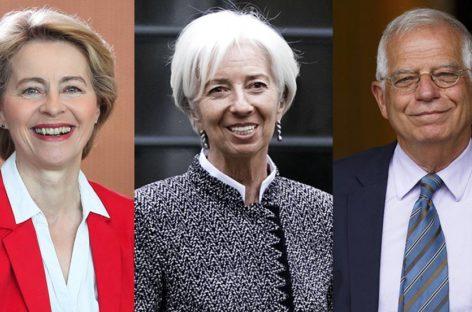 Dos mujeres dirigirán la Comisión Europea y el Banco Central Europeo