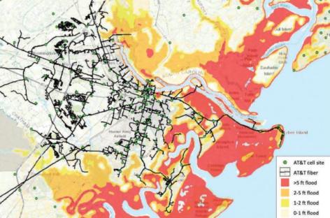 Cambio climático: el mapa que previene de las consecuencias por desastres naturales