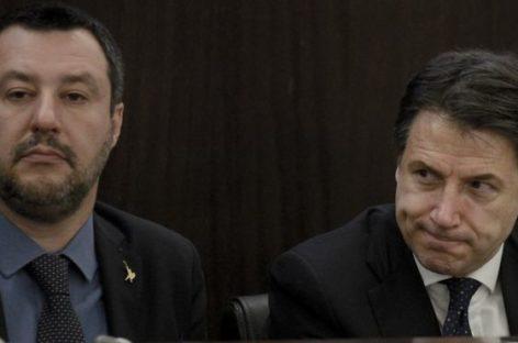 El primer ministro italiano acusó a su ministro del Interior de actuar de forma desleal