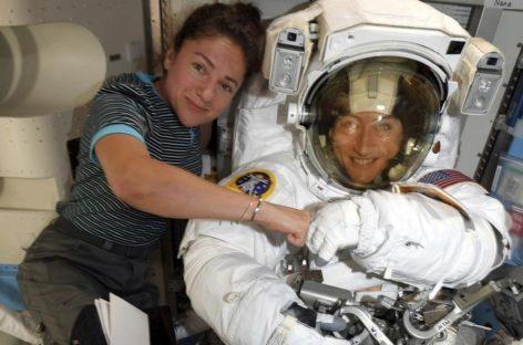 Primer paseo espacial protagonizado exclusivamente por mujeres astronautas