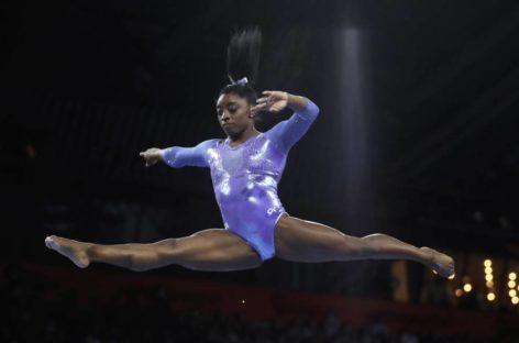 Simone Biles, la mejor gimnasta de la historia