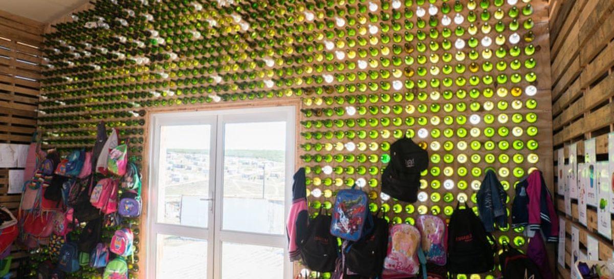 La nueva arquitectura social de Sudáfrica que se basa en el reciclaje de basura