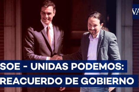 Claves del preacuerdo para el primer Gobierno de coalición en España