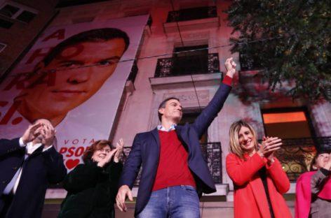 El PSOE gana las elecciones en España pero la formación de Gobierno se complica aún más