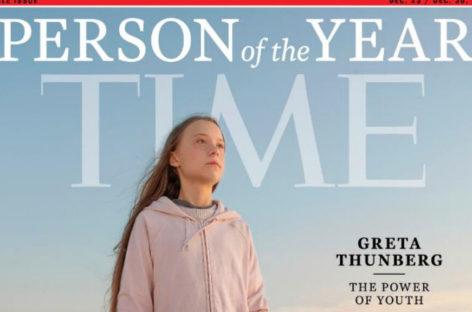 Personaje del año: Greta Thunberg
