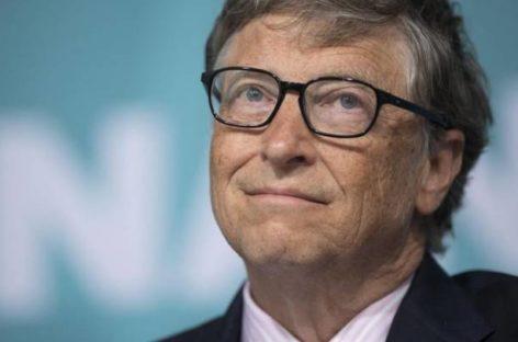 Bill Gates pide más impuestos para las mayores fortunas