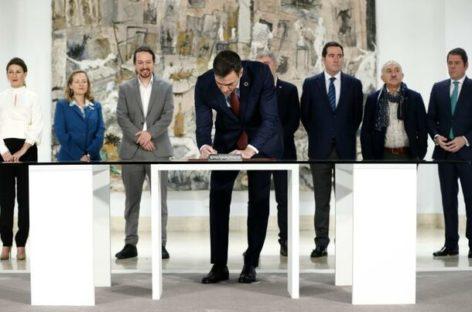 Salario mínimo de 950 euros en España