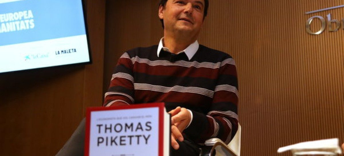 """Un """"socialismo participativo"""" que responda a los desafíos de nuestro tiempo. Thomas Piketty"""