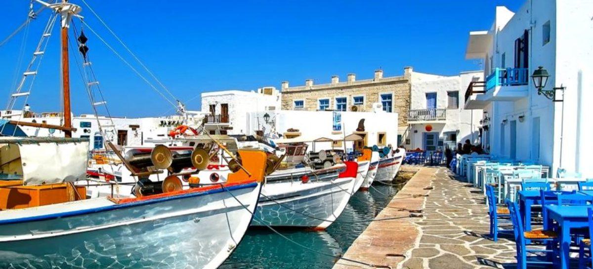Paros, la primera isla mediterránea libre de plástico