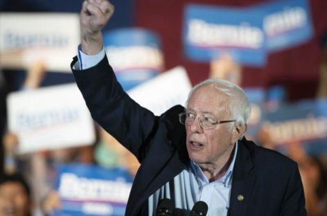 La revolución sanderista en EE.UU avanza como favorito de los demócratas