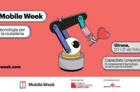 Mobile Week Girona 2020: la tecnología como herramienta de inclusión social