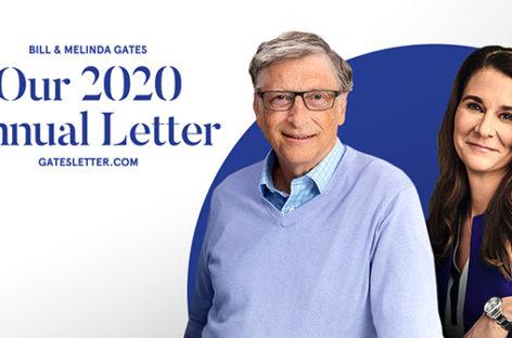 Una carta de esperanza para mejorar el mundo, según Bill y Melinda Gates