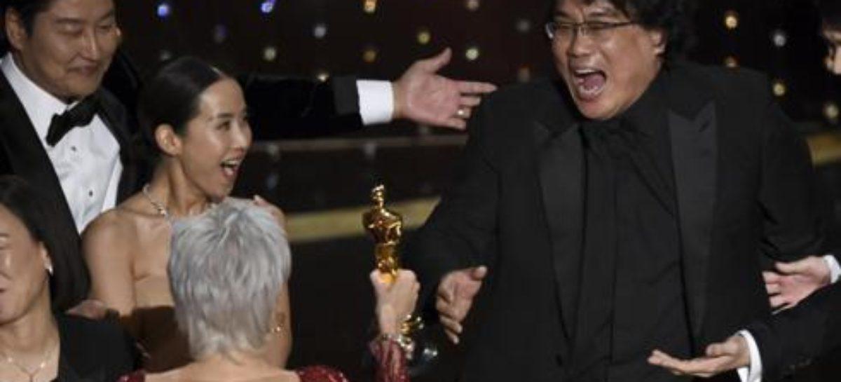 Parásitos, Oscar a la mejor película