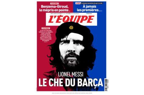 """Messi, """"El Che del Barcelona"""""""