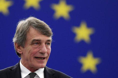 Hemos de compartir la deuda. El presidente del Parlamento Europeo defiende la máxima solidaridad europea