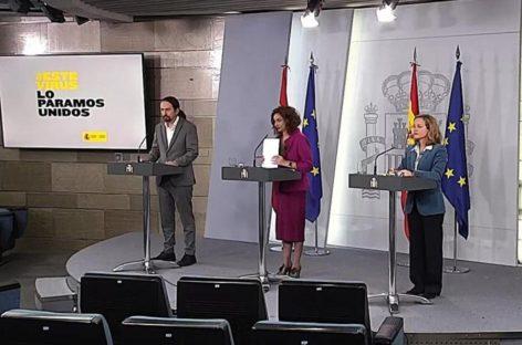 El escudo social en España en 50 medidas