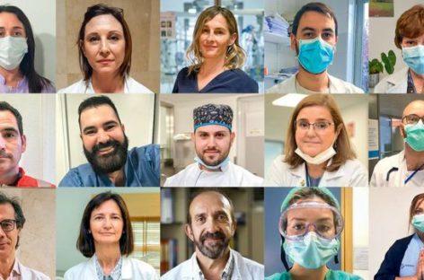Los héroes españoles contra el Coronavirus