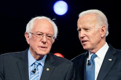"""Biden-Sanders: """"Debemos unirnos para derrotar al presidente más peligroso de la historia moderna"""","""