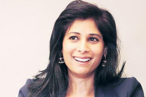 """Gita Gopinath: """"Lo que hemos aprendido, a pesar de toda la incertidumbre…"""""""